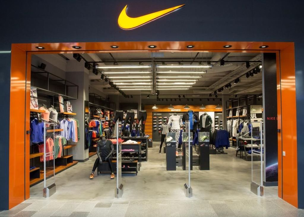 cheap for discount ef202 d802f Nike Store, Kaunas