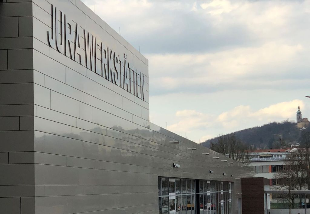 Neubau jura werkst tten amberg - Architekt amberg ...
